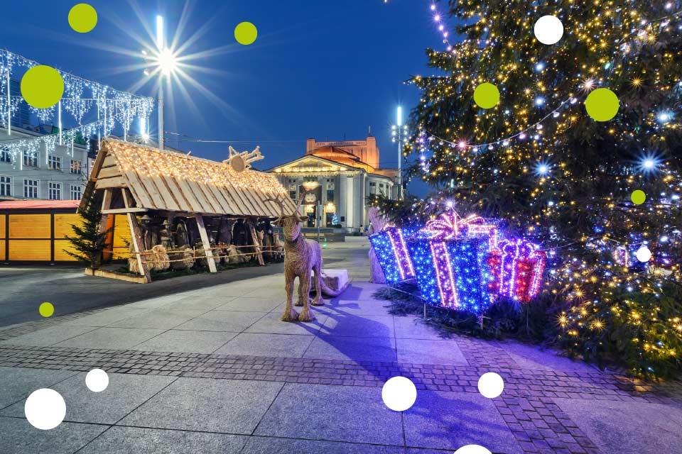 Jarmark Bożonarodzeniowy 2019 w Katowicach