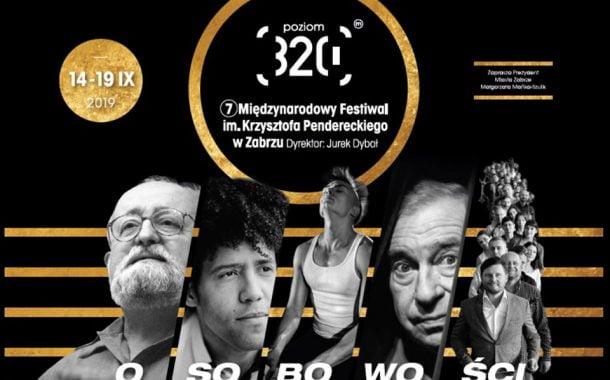 Międzynarodowy Festiwal im. Krzysztofa Pendereckiego – poziom 320 w Zabrzu