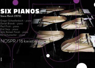Six Pianos | koncert