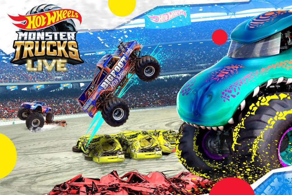 Hot Wheels Monster Trucks Live